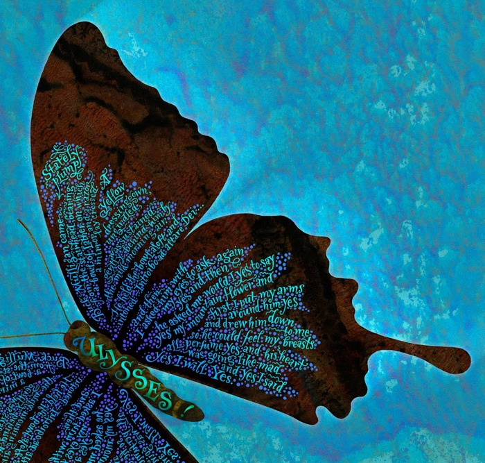 U is for Ulysses Butterfly