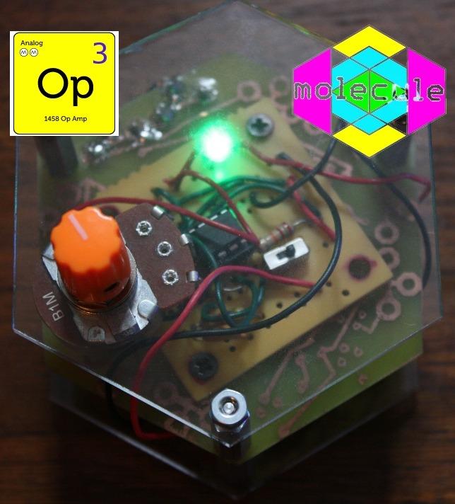 Sound Generator - Analog - 1458 Op Amp