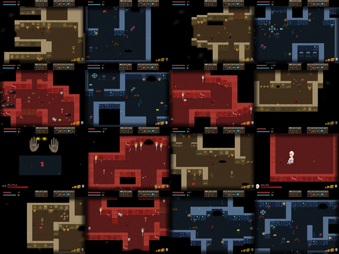 Pluck features a plethora of levels!