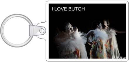 I LOVE BUTOH KEY CHAINS- Photo by Joshua Weiner