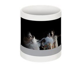 Beautiful BUTOH BLOSSOMS mugs- photo by Joshua Weiner