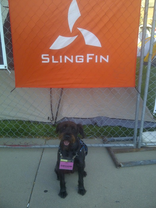 Another SlingFin product tester