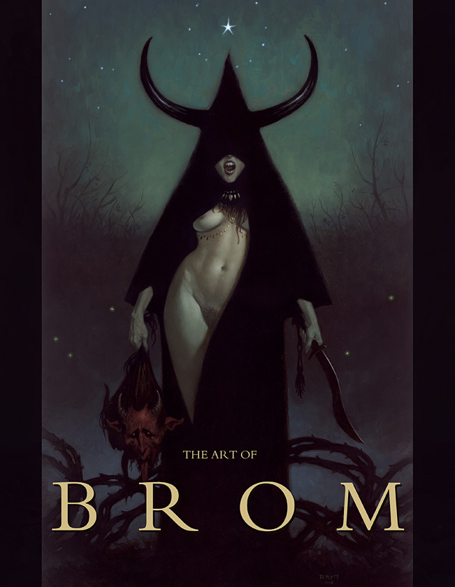"The Art of Brom ""Publisher Edition"" Nude Cover"