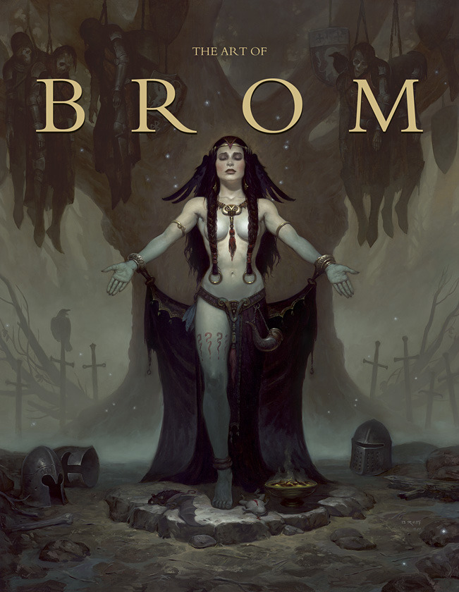 "The Art of Brom ""Trade Edition"" Cover"