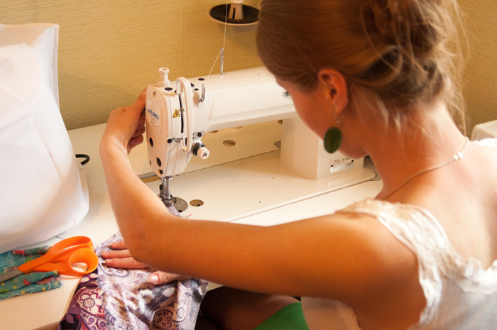 Kostroma, Russia Sewing Room