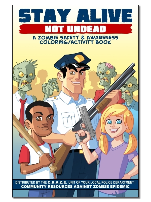 Stay Alive – Not Undead (Zombie Coloring/Activity Book ...