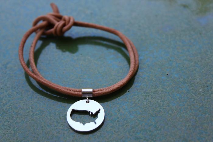 Knotted Double Strand Bracelet