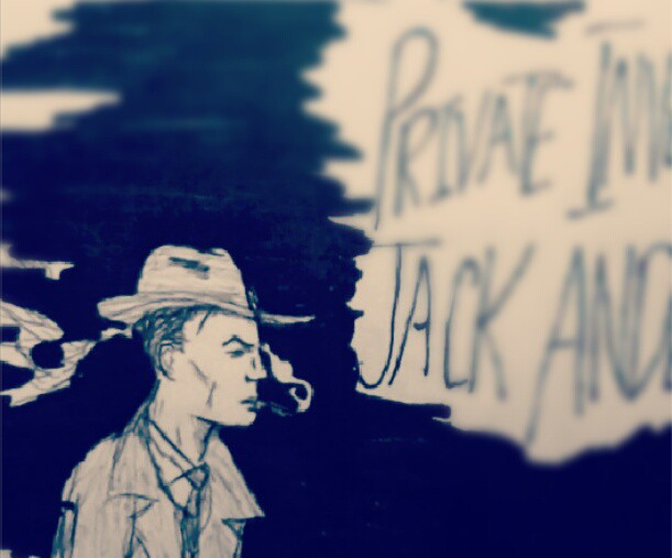 Protagonist and unreliable narrator, Jack Anderson