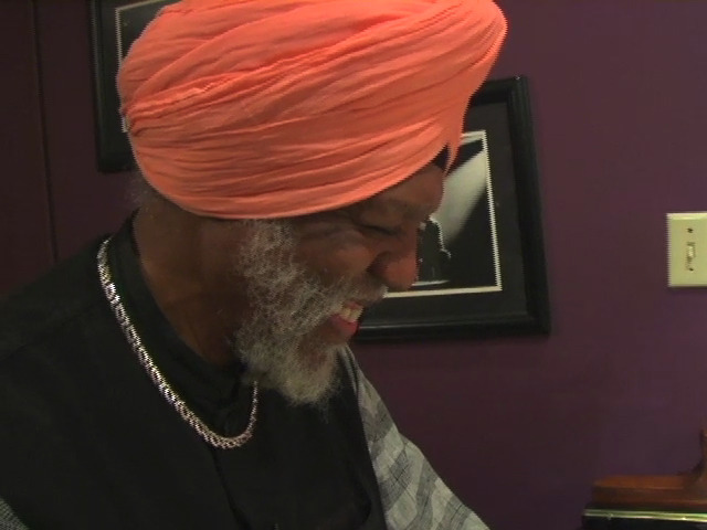 Ft. Lauderdale, FL - Organist Dr. Lonnie Smith plays at his home.  The good Dr. Smith owns almost a dozen Hammond Organs.