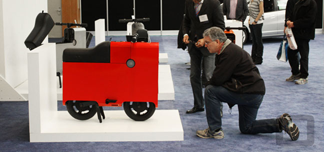 BOXX on display at the Portland Auto Show 2012