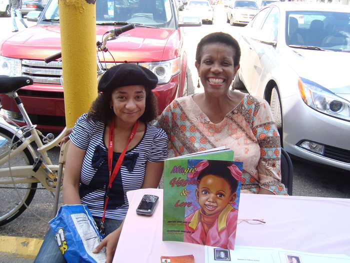 Illustrator, Rejena Smiley with Author, Barbara A. Kellom