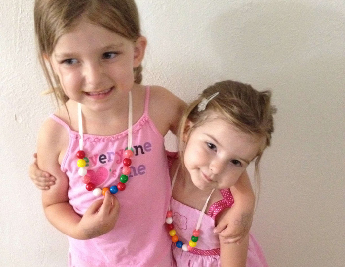 Gumball Necklaces by Claire (Age 5), $10 reward