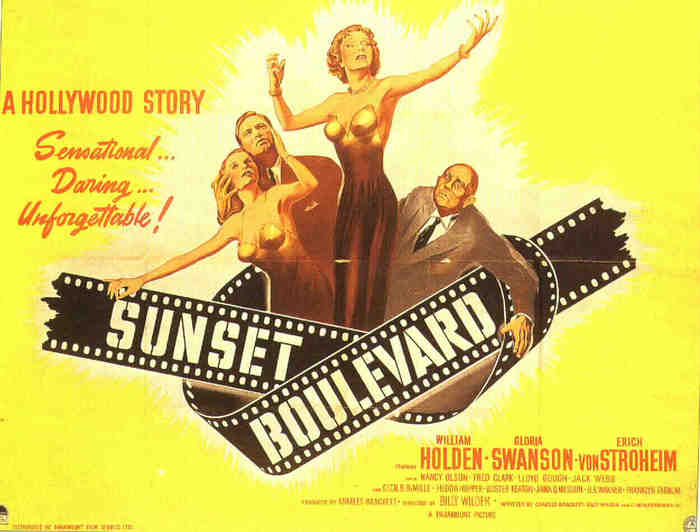Romance and Tragedy in Sunset Boulevard, a Hollywood Story