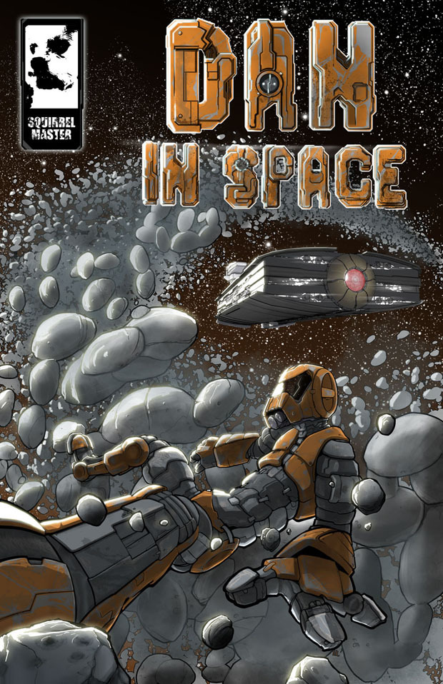 Dan In Space #2 Cover