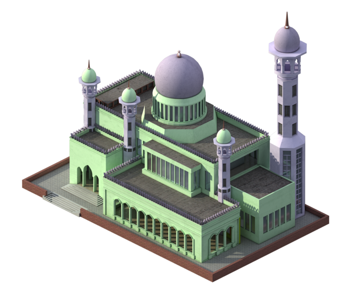 Mosque In City Federation