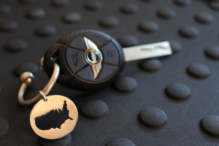 Horseshoe Key Ring (Mini not included)