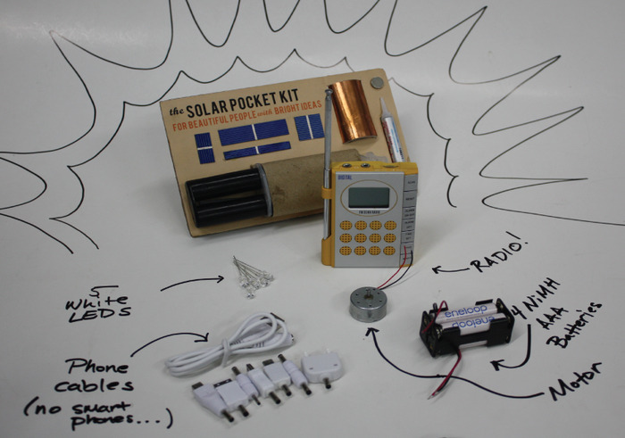 The Solar Experimenter's Kit
