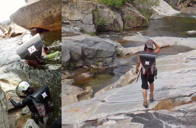 Canyoneering in King's Canyon, CA