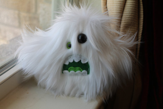 Undead-inspired cloud monster, 5 inch design