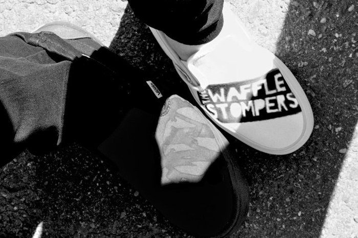 A picture of the famous Adam made TWS Shoes!