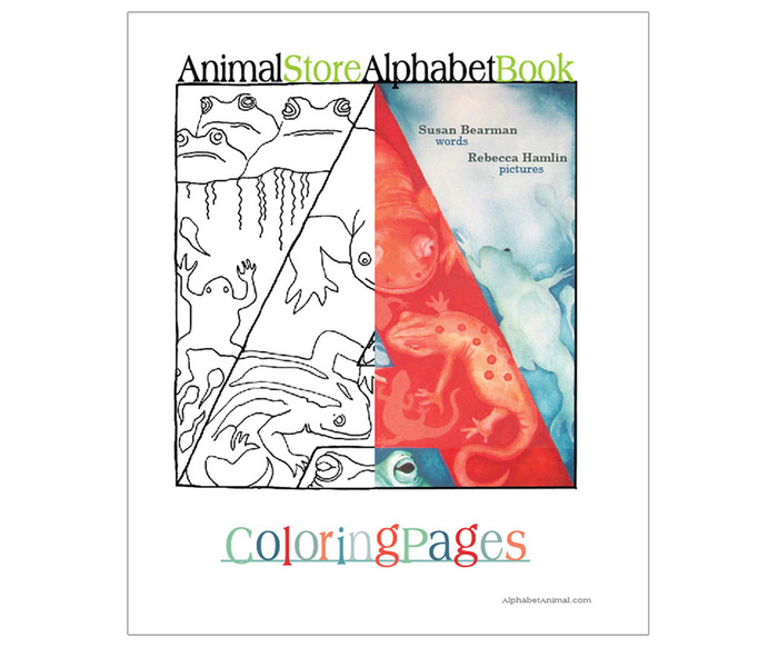 "Coloring book is 8.5""x11"""