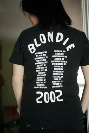 Blondie, American Apparel, S Unisex T BACK