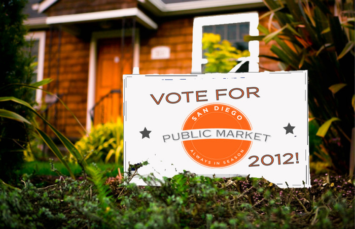 Limited Edition Vote SDPM yard sign
