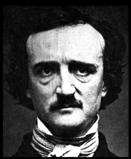 "One of several authentic photos of Poe, this one is known as ""ultima thule."""