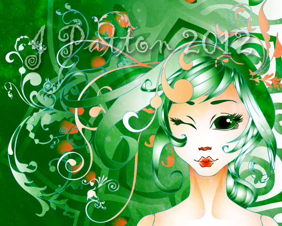 """BJD Swirl"" - the other print is being worked on now!"