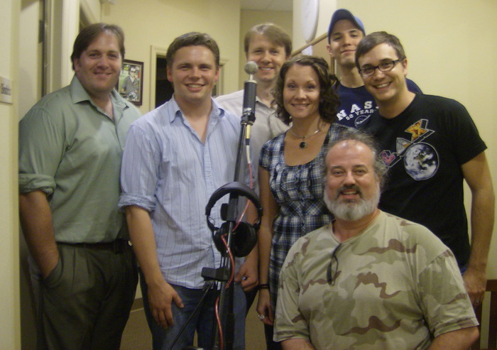 The Cast (Billy Horne, Calvin Lester, Jason Rush, Rachel Biehler, Tyler Bunch, Sean McMurray, and Nick Peugh)