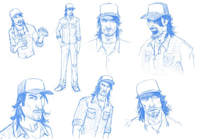 Sam - Design Sketches