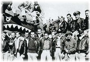Mom Chung recruited aviators known as the Flying Tigers