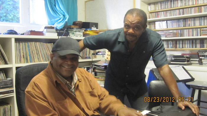 Hard working songwriters, Larry Batiste and Nicolas Bearde making some great new music.