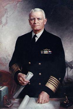 Admiral Chester W. Nimitz was a pallbearer