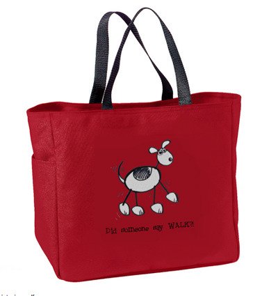 A tote bag with your choice of image and bag color for backers only.