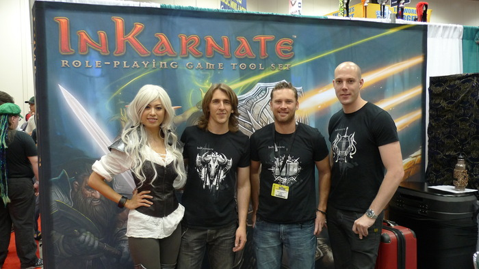The Team at GenCon.
