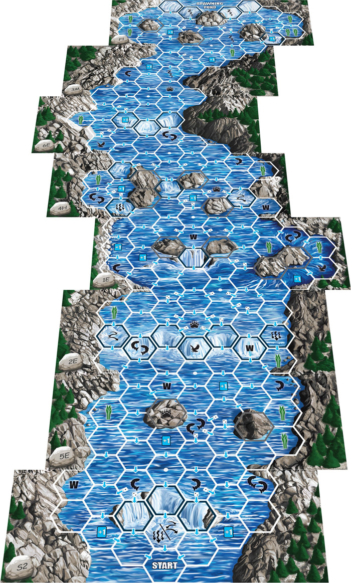 Still another possible board layout--this time with 8 mixed-difficulty boards!