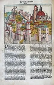 Nuremburgh Chronicle, 1493