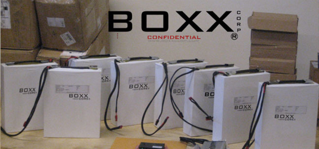 CORE ® battery product prototypes by BOXX Corp.
