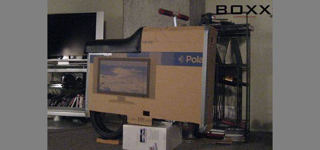 The very first BOXX was a box!  March 2009