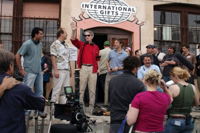 Cast & Crew on location in Tucson, AZ