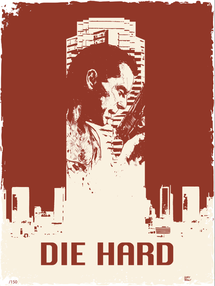 The DIE HARD Poster by Garry Brown