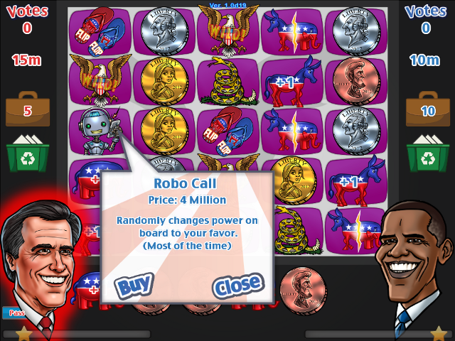 Mitt considers buying a Robo Call