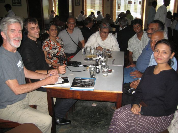 India 2010: the Talk of Bangalore in Koshy's famous cafe