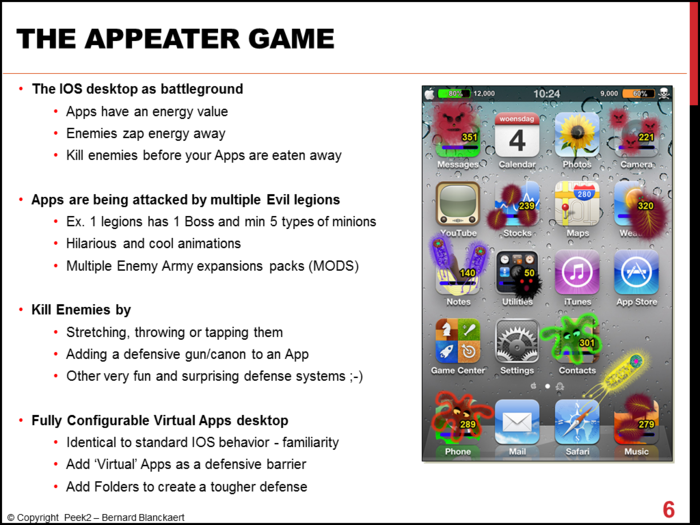 Introduction to the AppEater game.
