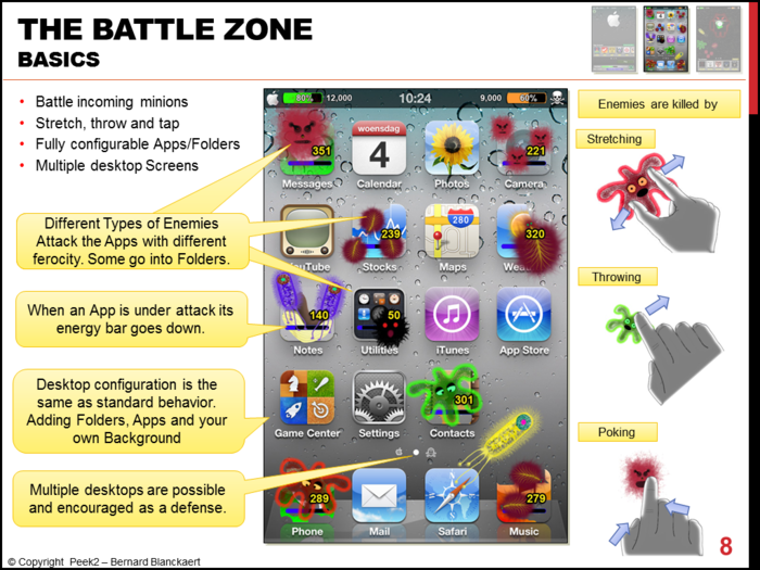 The Battle Zone's basic functionality.