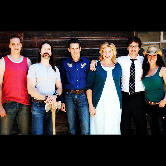 "From Left to Right: Paul Major- ""Conners,"" Brian Groh- Writer, Adam Tomei- ""Rufus,"" Jeanne Taylor- ""Celia,"" Kevin Hoffer- Director, Elizabeth Mouton- Producer"