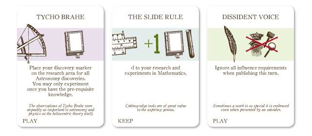 Similar to the cards in Agricola, the Happenings make every game spicy and different.