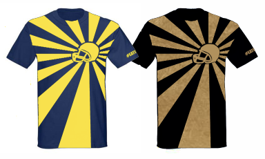 Rising Helmet (this shirt is oversize print and may vary with version to version)