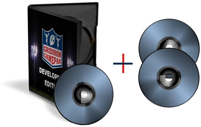 Gridiron GamePak Developer's Edition + 2 Data Backup Discs